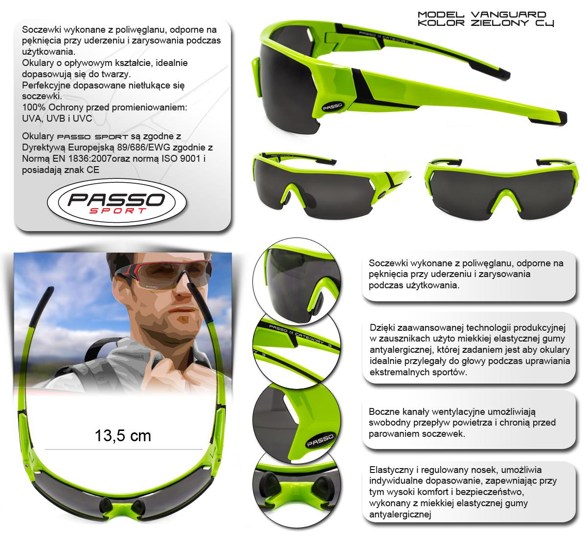 Okulary Sportowe Vanguard